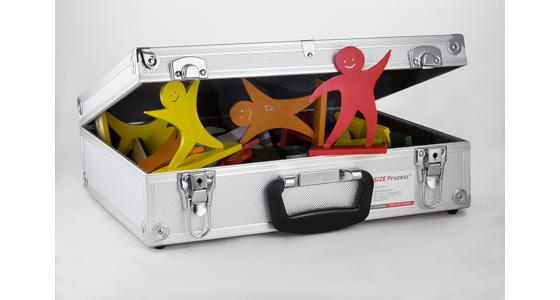 SIZE PROZESS® Figure Set 30-Pcs. in aluminum suitcase